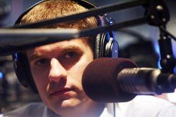 David Ragan talks with Sporting News Radio Friday at the ESPN Club at Walt Disney World