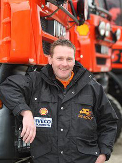 Team de Rooy: John Peeters, assistance truck #859