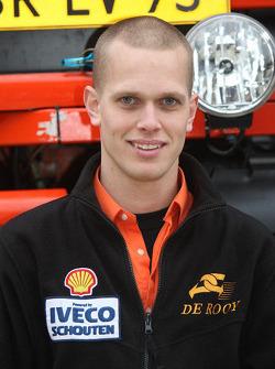 Team de Rooy: Marcel van Melis, co-driver rally truck #505