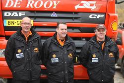 Team de Rooy: driver Ronald Kuijs, co-driver Ad van Reijen, crew member André van der Struijs