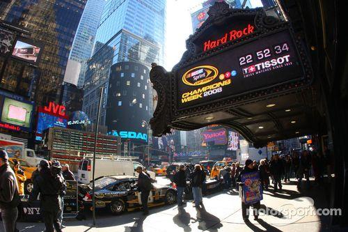 NASCAR Champions Week, New York City