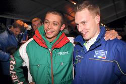 Jari-Matti Latvala se engancha con Mundial de Moto GP Valentino Rossi
