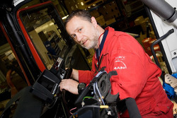 MAN Rally Team: Charly Gotlib, co-driver truck 1