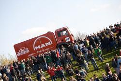 MAN Rally Team presentation: Franz Echter, Detlef Ruf and Artur Klein