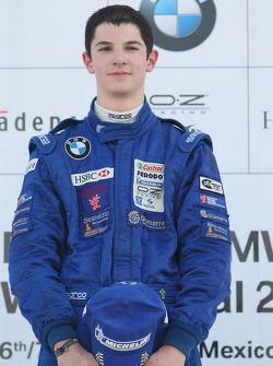 Podium: World Final winner Alexander Rossi