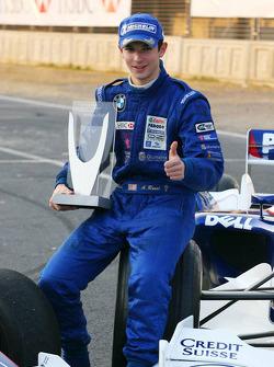 Photoshoot: World Final winner Alexander Rossi