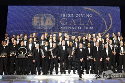 2008 FIA Gala prize giving ceremony, Monaco