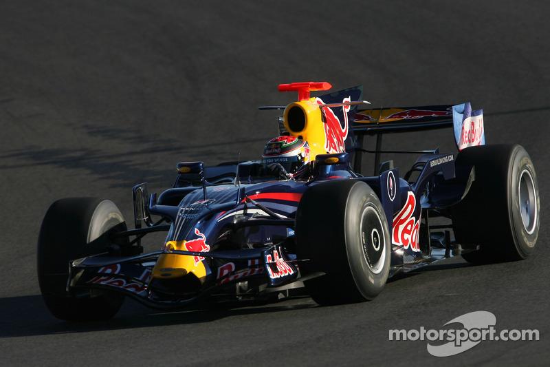 2008 год, раскраска Red Bull RB4