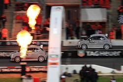 Quarter final, race 1: Tom Kristensen  beats Jenson Button