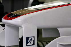 BMW Sauber F1 Team front wing detail