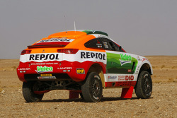 Repsol Mitsubishi Ralliart Team presentation in Morocco: the Mitsubishi Racing Lancer