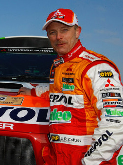 Repsol Mitsubishi Ralliart Team: co-driver Jean-Paul Cottret