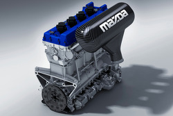 Mazda MZR-R powerplant for the American Le Mans Series and Le Mans Series