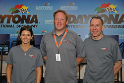 Press conference: Danica Patrick, Rob Finlay and Andy Wallace