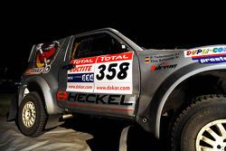 #358 Mitsubishi Pajero V60 of Tino Schmidt and Philipp Tiefenbach