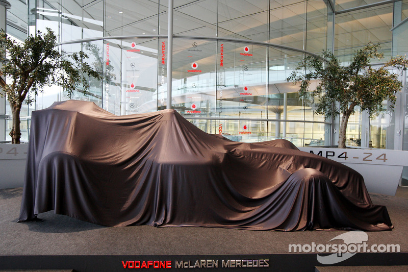 Unveiling of the new McLaren Mercedes MP4-24