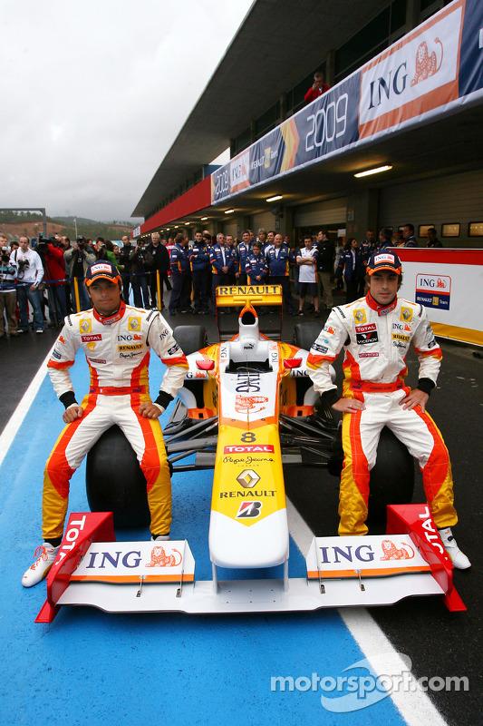 Fernando Alonso; Nelson A. Piquet, Renault, R29