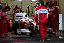 Kamui Kobayashi, Test Driver, Toyota F1 Team, In the new TF109