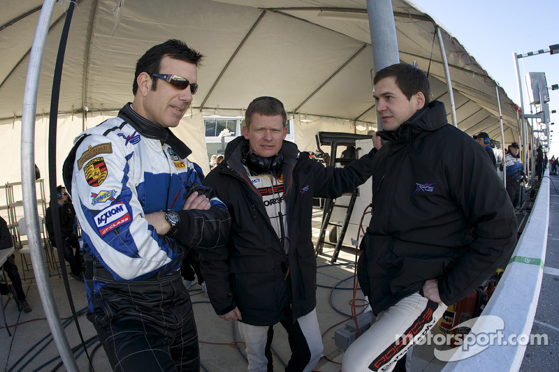 Spencer Pumpelly, Emmanuel Collard and Richard Lietz