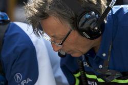 Patron Highcroft Racing team member at work
