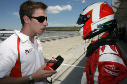 Filipe Albuquerque, driver of A1 Team Portugal and Antonio Felix da Costa, driver of A1 Team Portugal