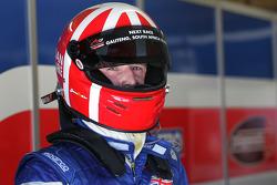 Dan Clarke , driver of A1 Team Great Britain