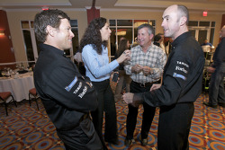 Scott Sharp and David Brabham