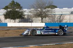 Spin for #15 Lowe's Fernandez Racing Acura ARX-01B Acura: Adrian Fernandez, Luis Diaz, Michel Jourdain