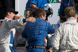 DP victory lane: JC France celebrates with Joao Barbosa