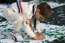 DP victory lane: Jayce France celebrates