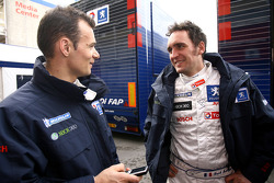 Stéphane Sarrazin and Franck Montagny