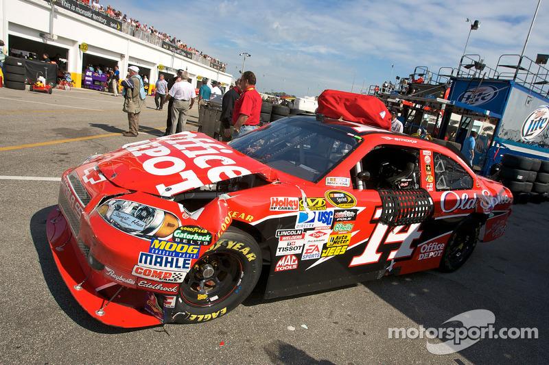 Daytona 500 2009: Trainingscrash sorgt für Rennstart von ganz hinten