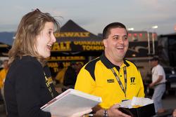 DeWalt RV party at the Auto Club Speedway