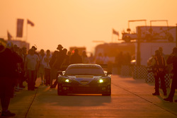 #4 Corvette Racing Chevrolet Corvette C6-R: Olivier Beretta, Oliver Gavin, Marcel Fassler heads to pitlane