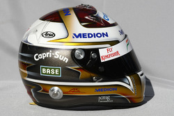 Adrian Sutil, Force India F1 Team, kask