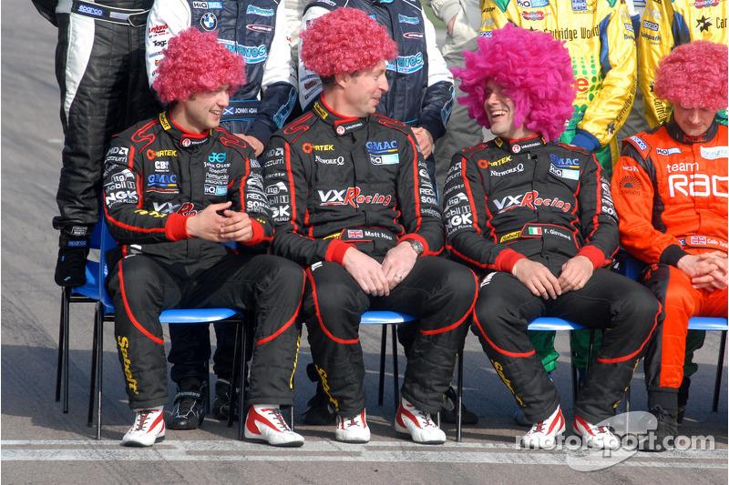 Andrew Jordan, Matt Neal and Fabrizio Giovanardi