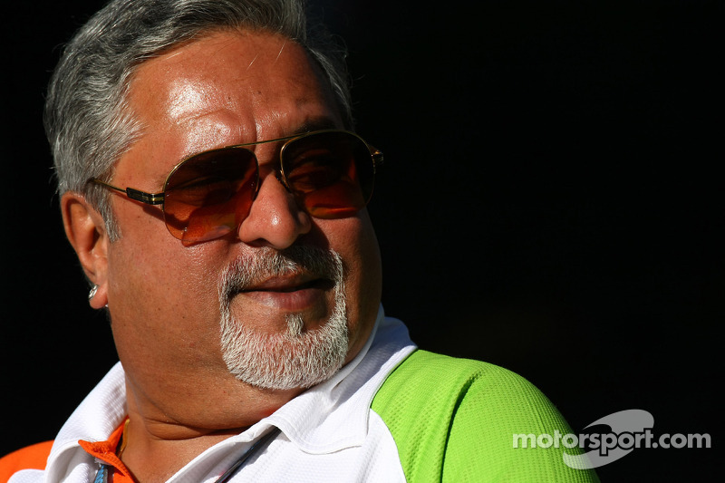 Vijay Mallya Force India F1 Team Owner