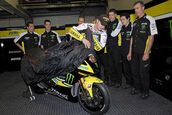 James Toseland and his Yamaha YZR-M1