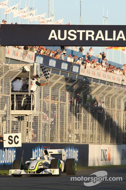 Sieg für Jenson Button, Brawn GP