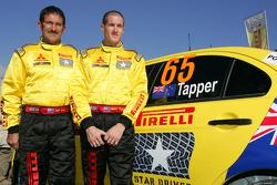 Mark Tapper and Jeff Judd, Mitsubishi Evo X, Pirelli Star Driver