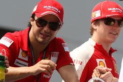 Felipe Massa, Scuderia Ferrari, Kimi Raikkonen, Scuderia Ferrari