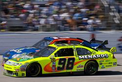 Max Papis, Germain Racing Toyota, Paul Menard, Yates Racing Ford