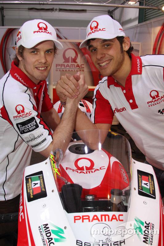 Mika Kallio, Pramac Racing y Niccolo Canepa, Pramac Racing