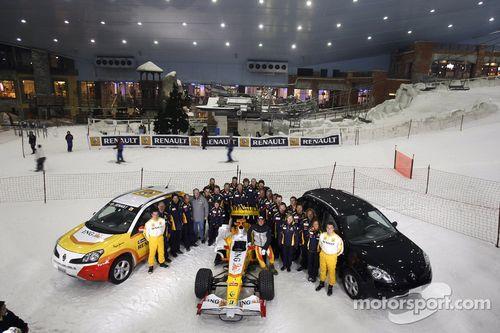 Renault F1 Roadshow, Dubai