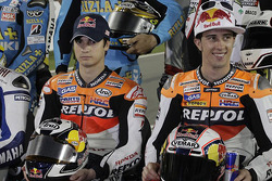 Photoshoot: Dani Pedrosa, Repsol Honda Team, Andrea Dovizioso, Repsol Honda Team