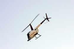 Helicam follows the action