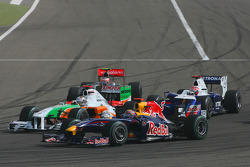 Марк Уэббер, Red Bull Racing и Адриан Сутиль, Force India F1 Team