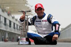 Il vincitore del campionato Gianni Morbidelli a Palm Beach