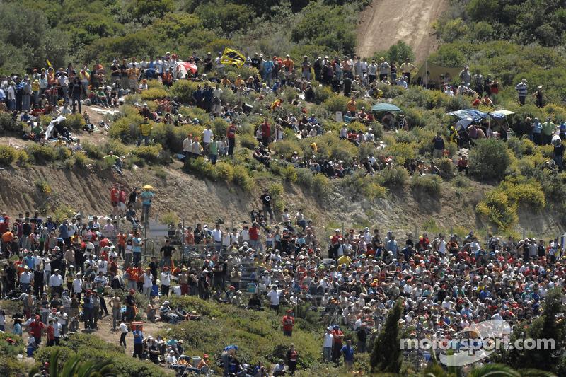 Jerez fans listo para la carrera