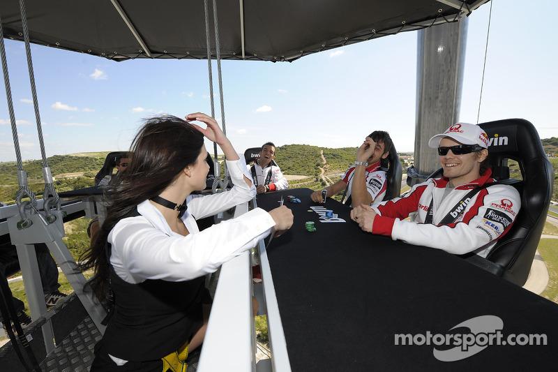 Mika Kallio, Pramac Racing, Niccolo Canepa, Pramac Racing juga poker muy por encima de la pista